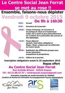 Affiche - octobre rose