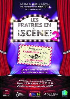 flyer recto fratries en scène 2